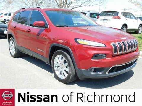 Pre-Owned 2016 Jeep Cherokee Limited FWD 4D Sport Utility