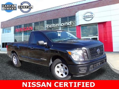 Certified Pre-Owned 2017 Nissan Titan S