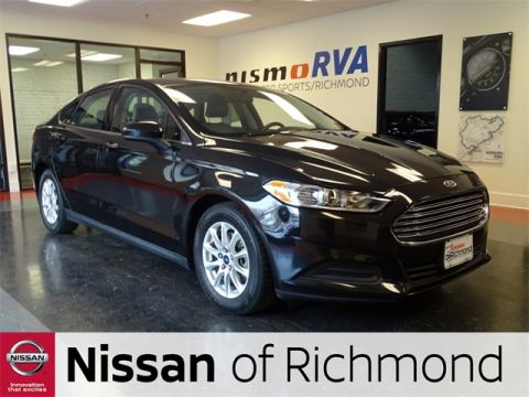 Pre-Owned 2015 Ford Fusion S FWD 4D Sedan