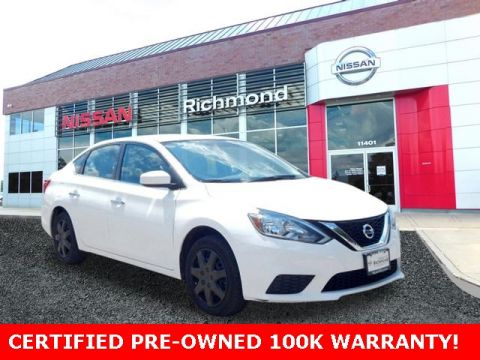 Certified Pre-Owned 2017 Nissan Sentra S FWD 4D Sedan