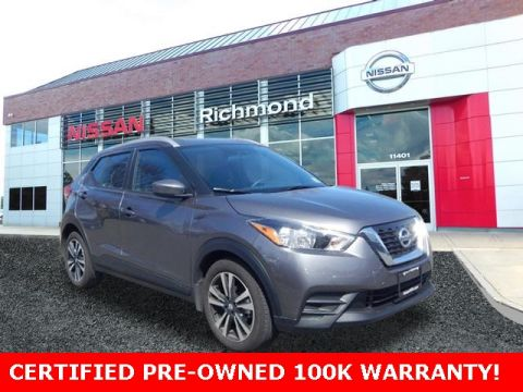 Pre-Owned 2018 Nissan Kicks SV FWD 4D Sport Utility