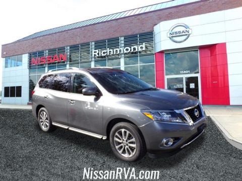 Certified Pre-Owned 2015 Nissan Pathfinder SV