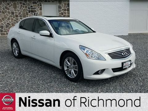 Pre-Owned 2012 INFINITI G37 Journey RWD 2D Coupe