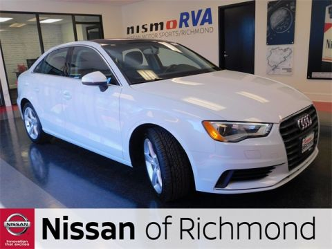 Pre-Owned 2015 Audi A3 1.8T Premium FrontTrak 4D Sedan
