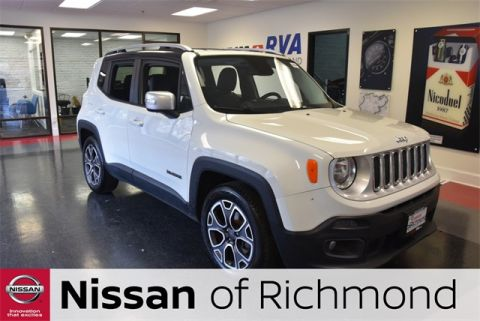 Pre-Owned 2016 Jeep Renegade Limited FWD 4D Sport Utility